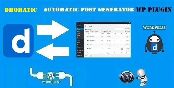 DMomatic Automatic Post Generator and Dailymotion Auto Poster Plugin for WordPress