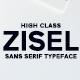 Zisel Sans Serif Typeface