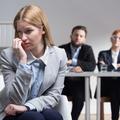 Stressed future employee