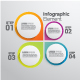 Set of 4 Infographic Elements Templates