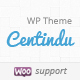 Centindu Portfolio & Shop WordPress Theme