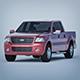 Vray Ready Ford F150 SUV Car