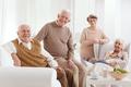 People in nursing home