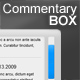 CommentaryBOX -xml based - ActiveDen Item for Sale