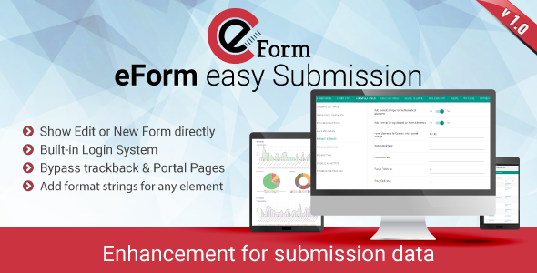 eForm easySubmission – Direct Form Edit & Extended Format String