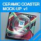 Ceramic Coaster Mock-up v1