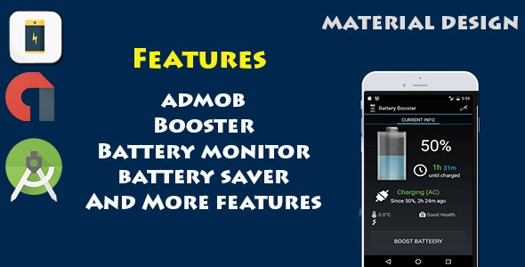 Battery Saver Booster - CodeCanyon Item for Sale