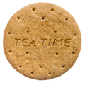 Isolated Biscuit Or Cookie