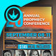 Annual Prophecy Conference Flyer Template