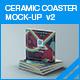 Ceramic Coaster Mock-up v2