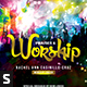 Praises and Worship & Art of Praises Church Flyer