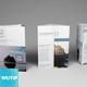 Bifold/ Trifold Brochure Mockup Bundle