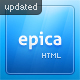 Epica - ThemeForest Item for Sale
