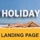 HOLIDAY - Multipurpose Responsive HTML Landing Page