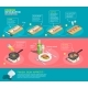 Preparing Salmon Steaks Infographics