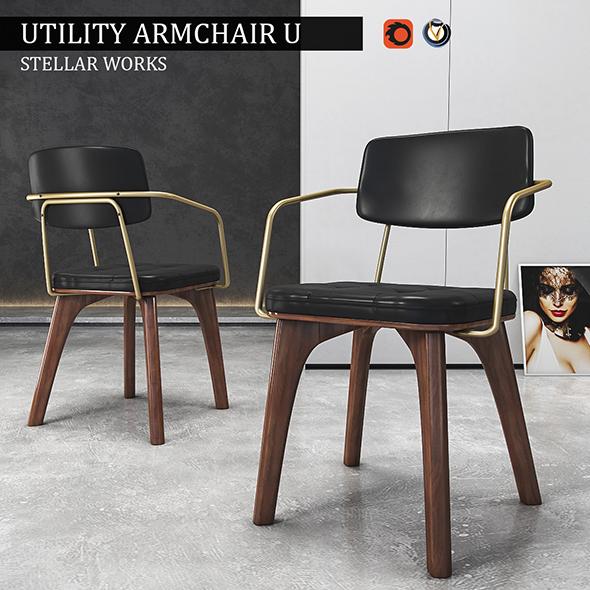 3DOcean Chair Utility Armchair U 19830809