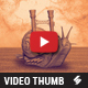 Sandstorm Tunes - Music Video Thumbnail Artwork Template