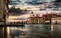 Dramatic sky in Venice