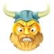 Viking Emoji Emoticon