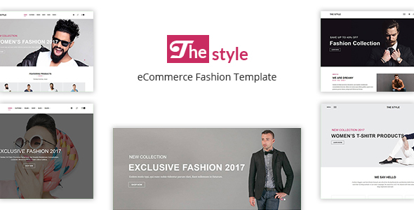 The Style - eCommerce Fashion Template