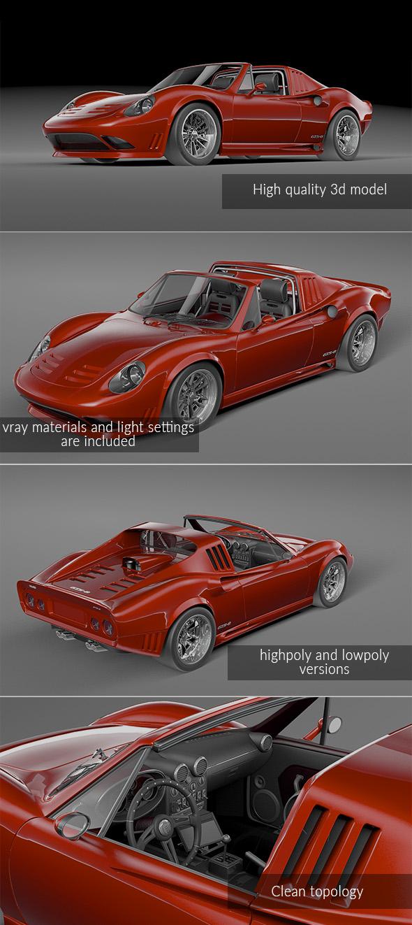 Henry Clay Motorsports Veloce GTS-8
