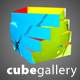 Cutted cube Gallery 3D - ActiveDen Item for Sale
