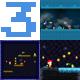 3 iOS Game Templates + IAP + Game Service