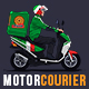 Motorized Courier - Delivery MockUp