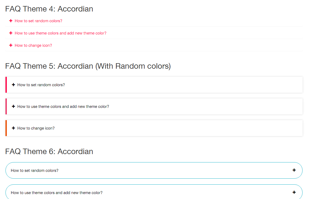 Random colors website - Bootstrap Testimonials Showcase To Show Client Testimonials In Your Website