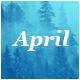 April - Responsive Email Template Minimal