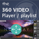 360 Video Player Premium - with Quality changer and Playlist DZS