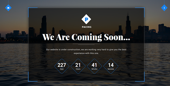 Download Pacing - Coming Soon Template