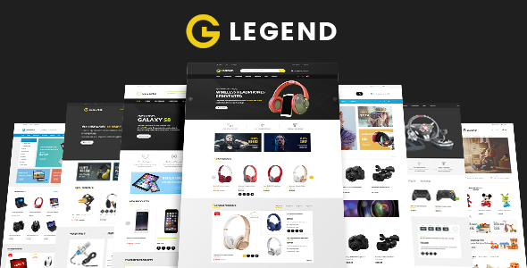 Legend - Multipurpose Responsive Drag and Drop Shopify Theme
