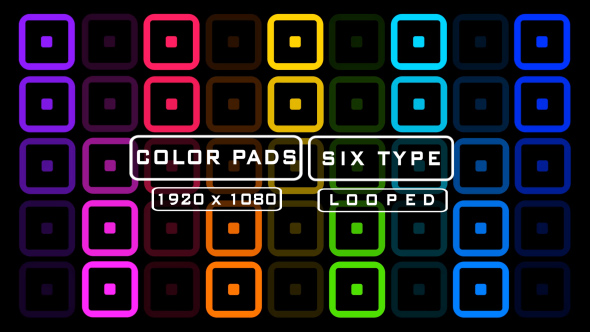 VideoHive Color Pads Pack 19835890