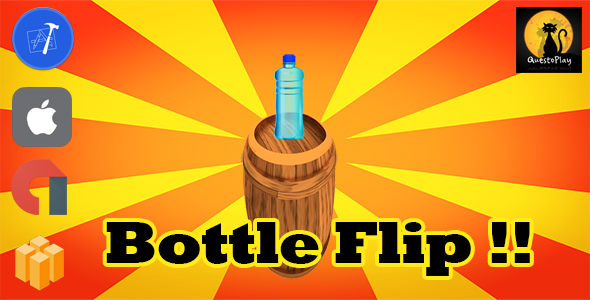 Bottle Flip | Multiple | iOS + xCode | Admob | - CodeCanyon Item for Sale