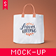 Canvas Tote Bag Mock-up Vol. 3