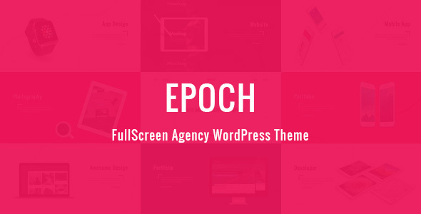 Epoch - FullScreen Agency WordPress Theme
