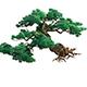 Game Model - Taoist comprehension scene - Pine 04 01
