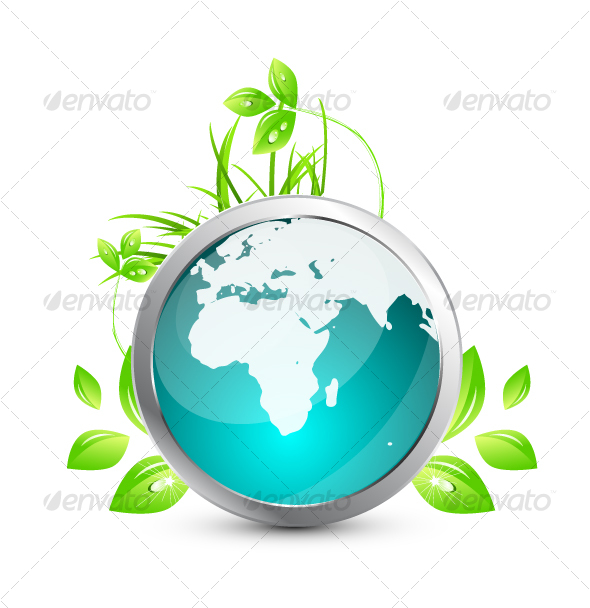 GraphicRiver Green Earth Concept 75015