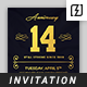 Anniversary Invitation Template Vol.02