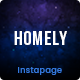Homely - Real Estate Instapage Template