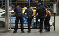 policemen in New York City