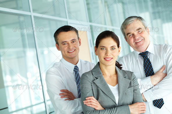 Friendly partners - Stock Photo - Images