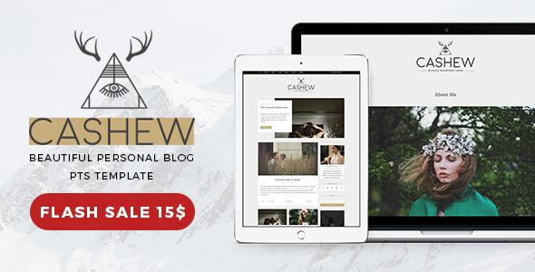 Download Cashew - A Personal Blog WordPress Theme