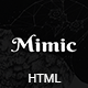 Mimic - OnePage Business HTML Template
