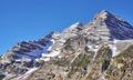 Maroon Bells mountain range, Aspen in Colorado, USA