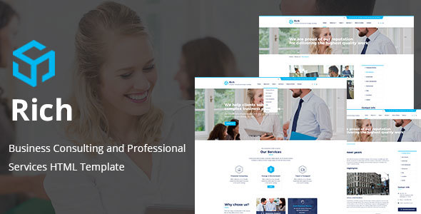 Rich - Consulting & Business HTML Template
