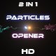 Particles Ring Explosion Opener