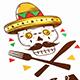 Calaca Bar Logo Template