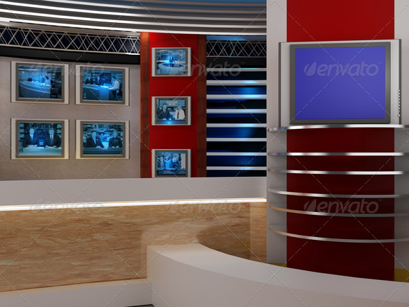 Stock Photo - PhotoDune studio tv 1942842